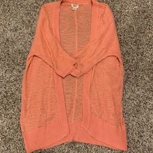 Mossimo Coral Cardigan